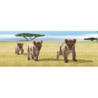 Lesezeichen 3 Löwen
