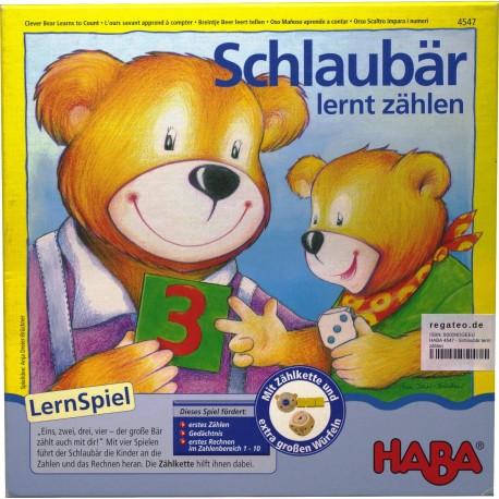 Lernspiele HABA Spiel Schlaubär 3-6 Jahre