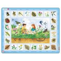 Lernpuzzle Auf der Wiese (48 Teile)
