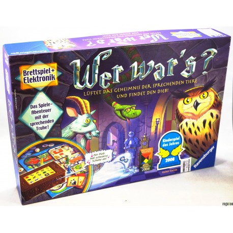 Ravensburger 21854 - Wer war's? - Kinderspiel des Jahres 2008